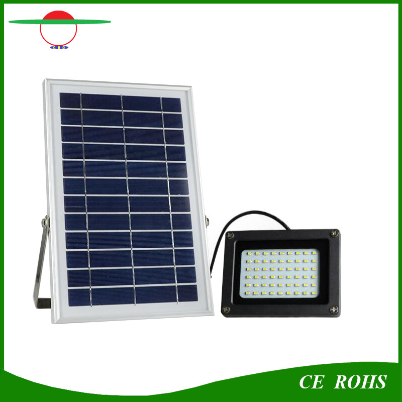 5W Solar Flood Light Waterproof IP65 Outdoor Solar Floodlight 54LED High Brightness Garden Light