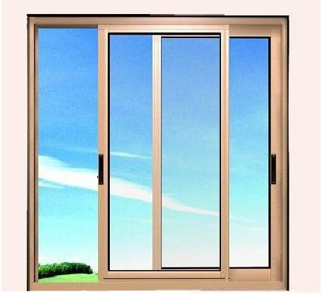 Aluminum Framed Double Glazed Sliding Glass Window