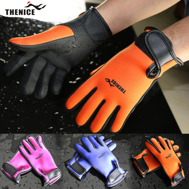 Thenice 100% Original Scuba Diving Gloves 1.5mm Neoprene Snorkeling Equipmen