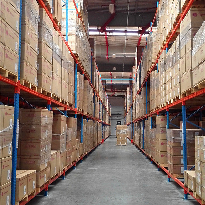 Warehouse Storage Adjustable Heavy Duty Steel Pallet Rack