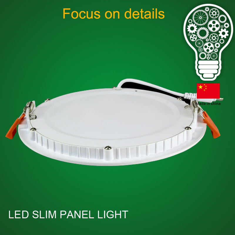 OEM Best Selling 100lm/W 160 Beam Angle Ceiling Panel Light 8 Inch Round LED Panel Light
