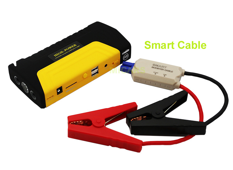 16800mAh Lithium Polymer Battery Snap on Jump Starter