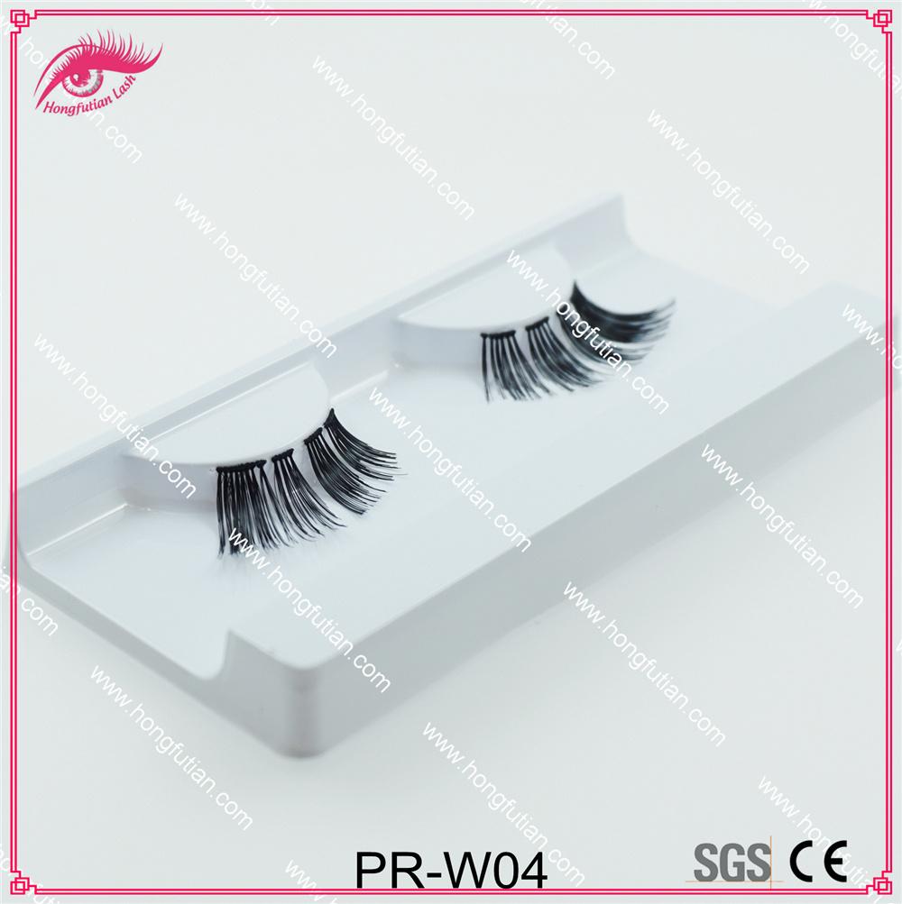 New Designed Human Hair False Eyelash for Makeup Artist Eye Lash
