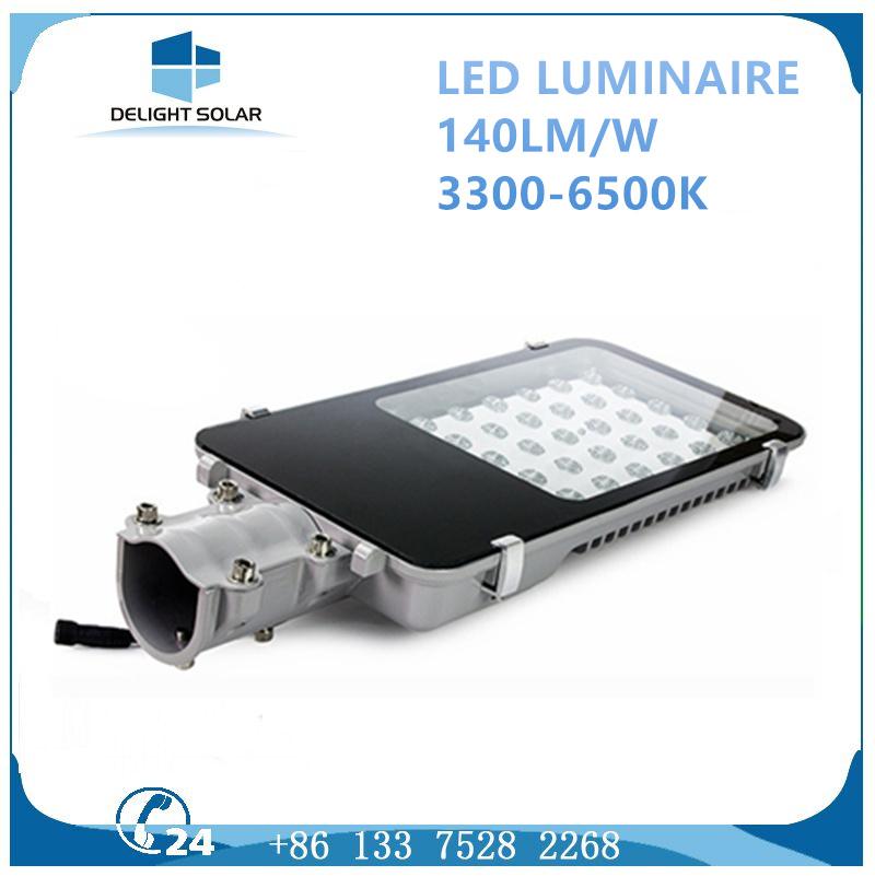 10W-250W AC/DC Lamp CREE/Bridgelux Chip Fixture LED Outdoor Street Light