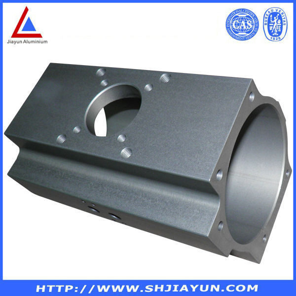 6060 T5 Extruded Aluminum Tube Made by China Aluminium Factory