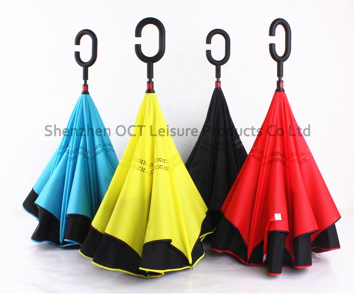 High Quality Reverse Inverted Straight Umbrella (OCT-TXR006)