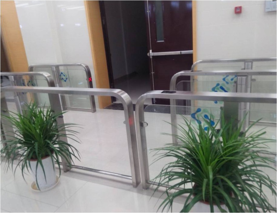 RFID Card Reader Automatic Barrier Gate for Entrance Control System