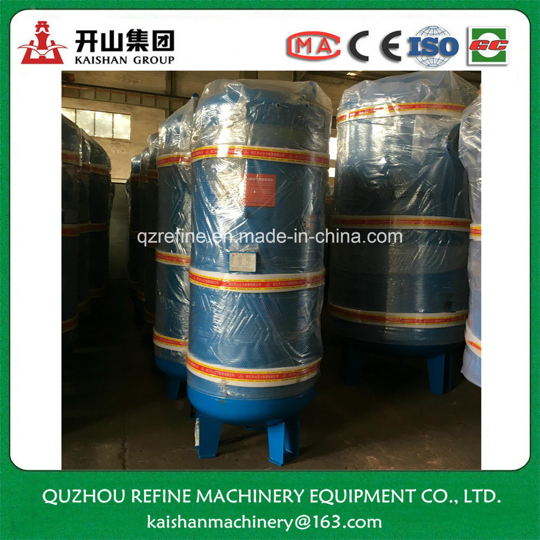 600L 1.0MPa Carbon Steel Air Compressor Gas Receiver