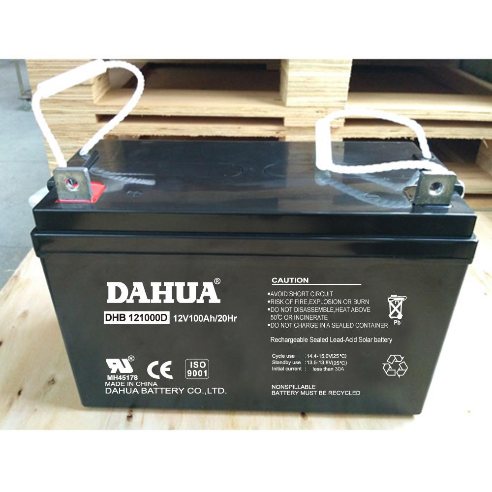 Hot Sale 12V 100ah Deep Cycle Solar Battery for Solar Systems