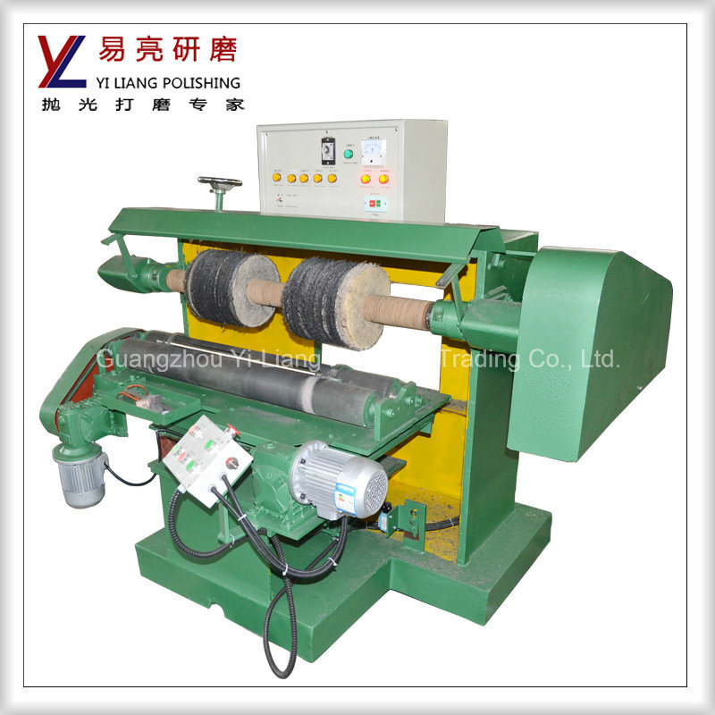 Round Tube Mirror Finish or Wire Drawing Surface Polishing Machine