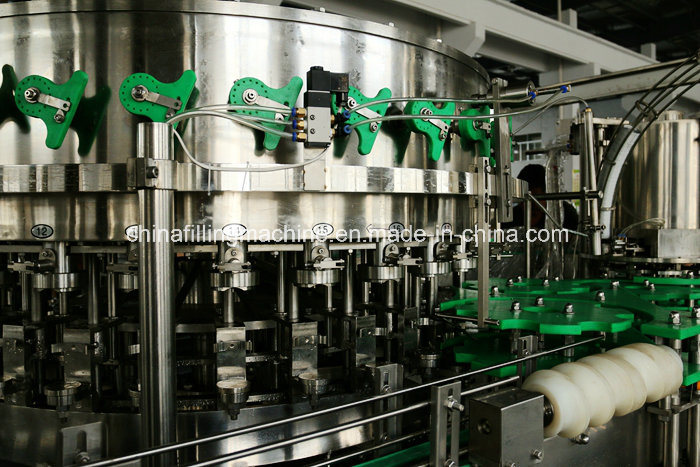 Automatic 2-in-1 Monoblock Beer Can Filling Machinery with Ce (YDGF)