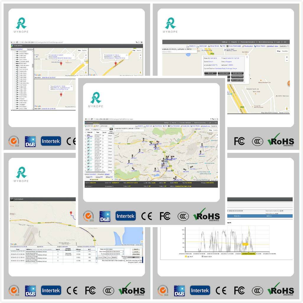 Web Based Avl GPS Tracking Software GS102