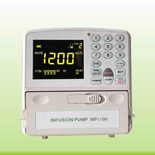 1-1200ml/Hr Ce Marked Vet/Human Infusion Pump