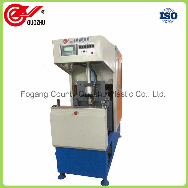 2 Cavity Semi-Auto Pet Bottle Blowing Machine with Low Price