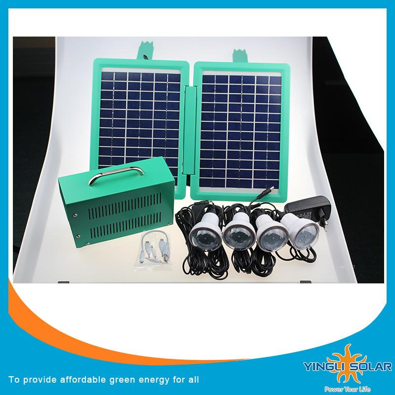 6PCS LED Lamp Solar Lighting Kits (SZYL-SLK-6020)