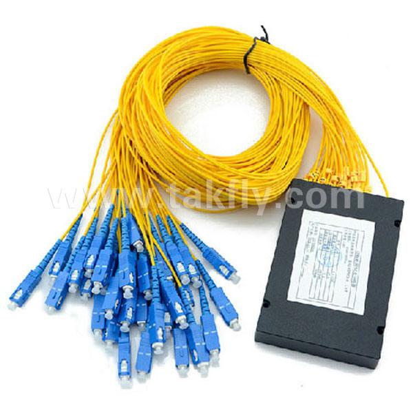 Sc Upc APC 1X4/1X8/1X16//1X32/1X64 Fiber Optical Steel Tube PLC Splitter