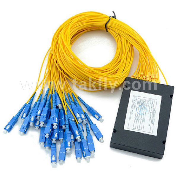 Sc/Upc Sc/APC 1X4/1X8/1X16//1X32/1X64 Fiber Optical Steel Tube PLC Splitter