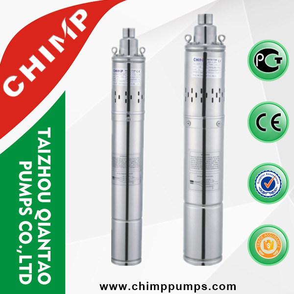 Stainless Screw Deep Well Sumbersilbe Pump