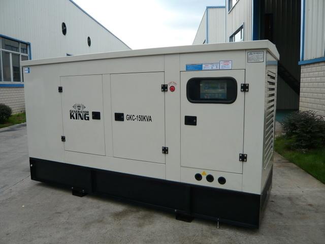 150kVA Generator Diesel Power Gensets with Cummins Engine