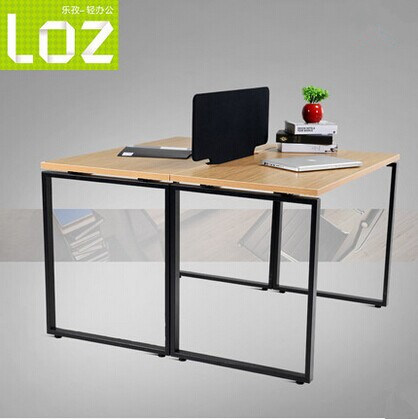 High Quality Steel Frame Table Leg Factory Economical Modular 2 Seater Office Workstaiton