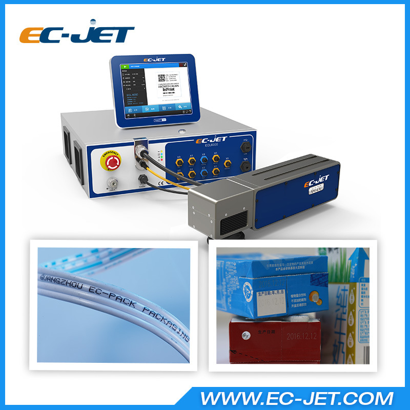 Non-Contact Batch Coding Machine Fiber Laser Printer (EC-Laser)
