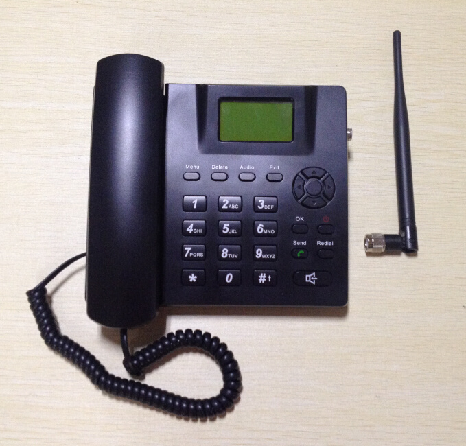 2g or 3G GSM/WCDMA Fixed Wireless Desktop Phone with FM Radio and TNC Multi Language