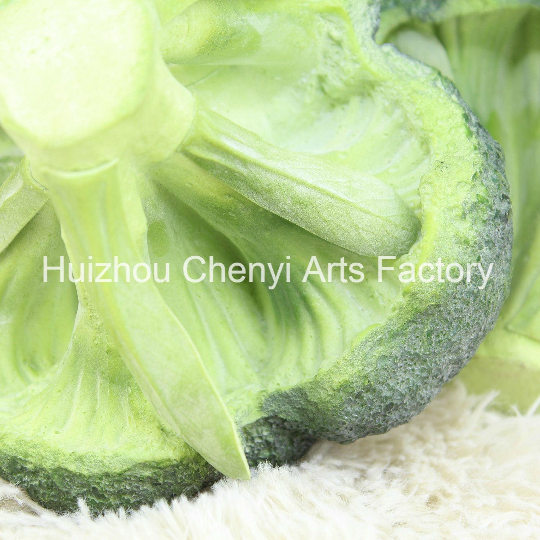 Very Realistic PU Model Artificial Broccoli