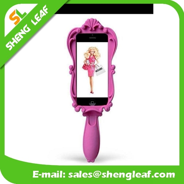 Hot Sale Rubber Mirror Phone Case for iPhone 6, iPhone5S