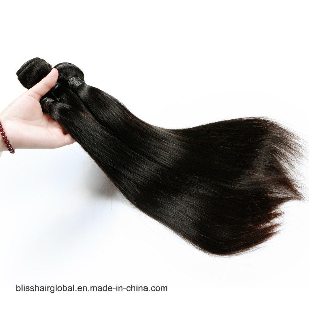 "Bliss Peruvian Hair Straight 10""-30"" 8A High Quality One Donor Unprocessed Natural Virgin Human Hair"