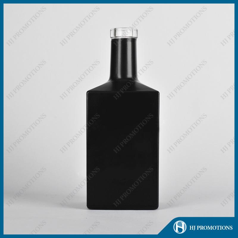 700ml Customized Black Liquor Bottle (HJ-GYSN-A04(B))