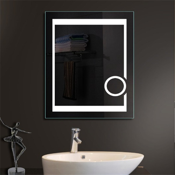 Us Market Hotel Waterproof Frameless Fogfree Bathroom Vanity LED Mirror