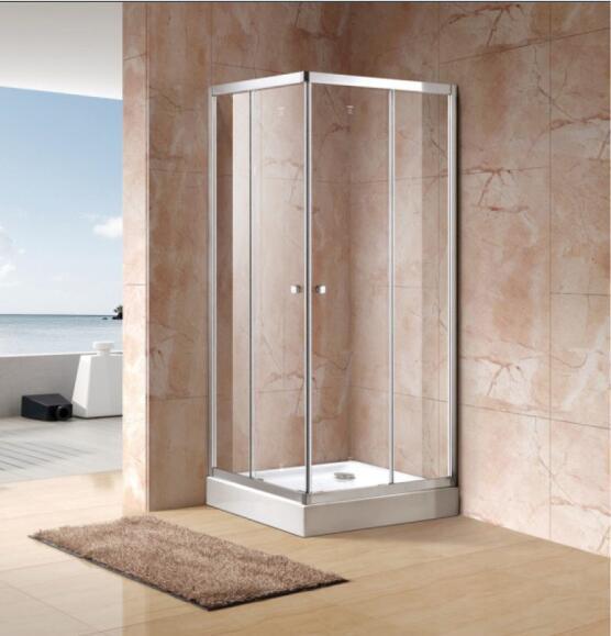 Bathroom Best Price Economy 4/5mm Corner Entry Shower Enclosure (EC-CE90)