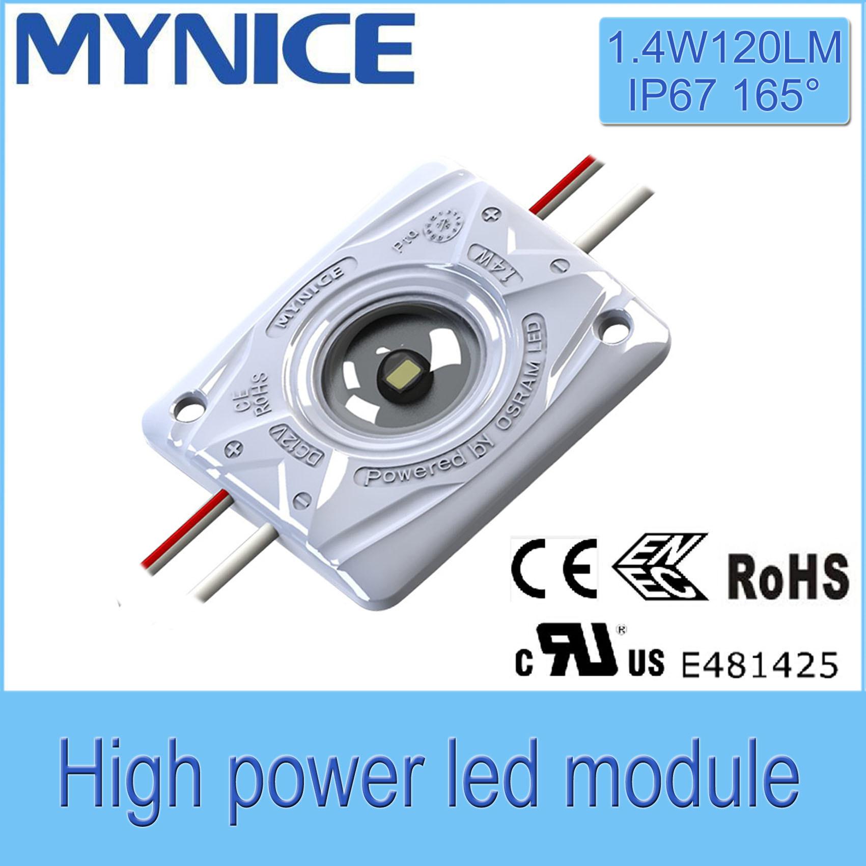 1-44W-Osram-3030-High-Power-LED-Modules Elegantes High Power Led Dekorationen