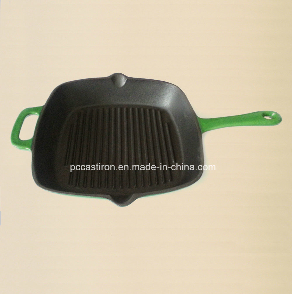 Enamel Cast Iron Skillet Manufacturer From China