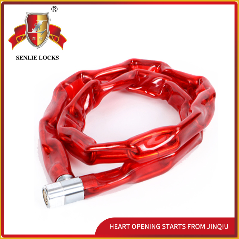 Jq8601high Quality Bicycle Lock Motorcycle Chain Lock for Mountain Bike