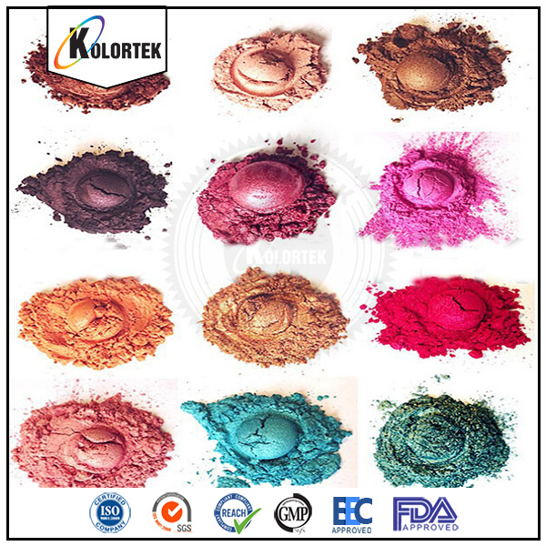 Cosmetic Grade Mica Colour Pigment Powders