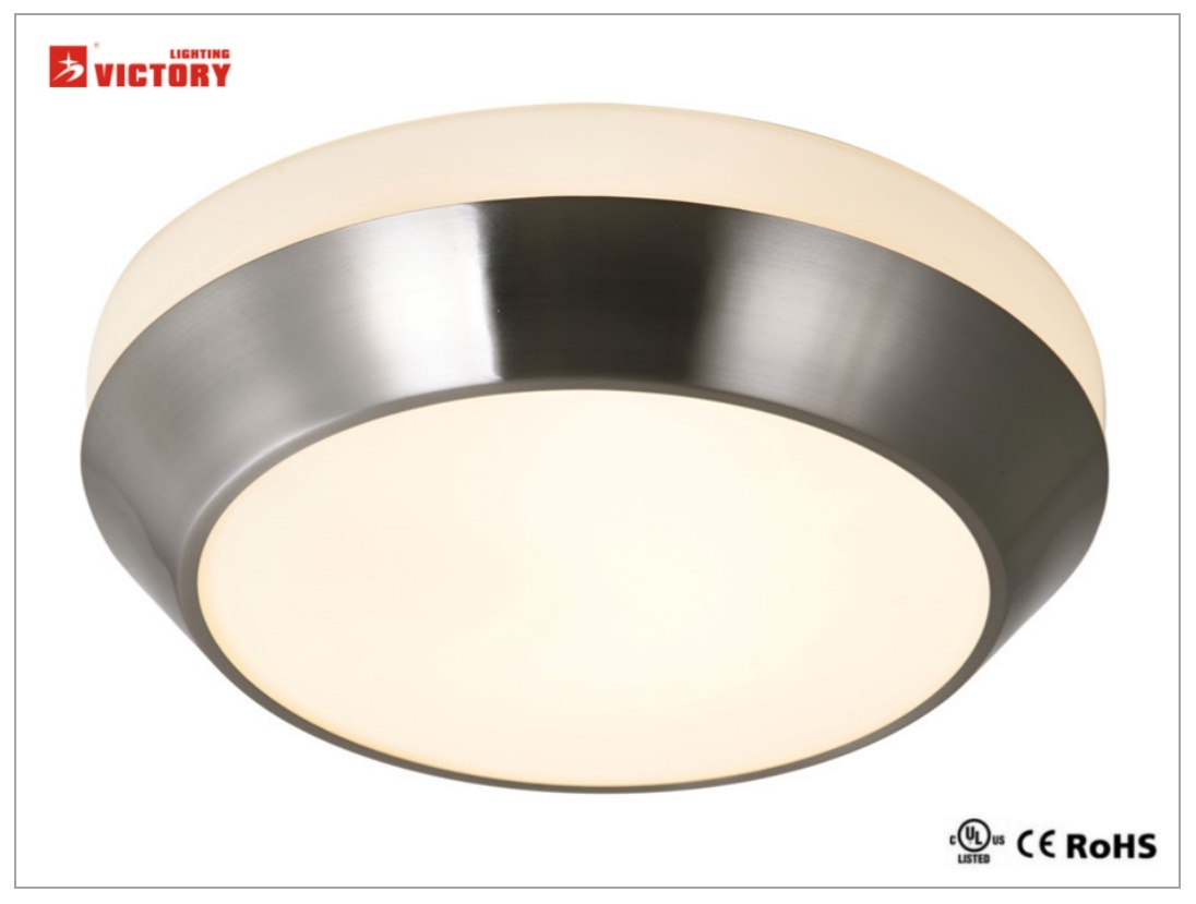 Waterproof Simple Round Home Modern LED Ceiling Light