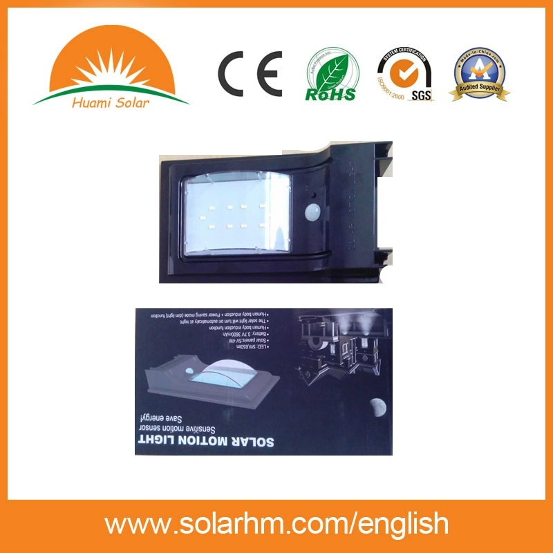 (HM-0507E) 10W All in One Solar Street Light From Factory