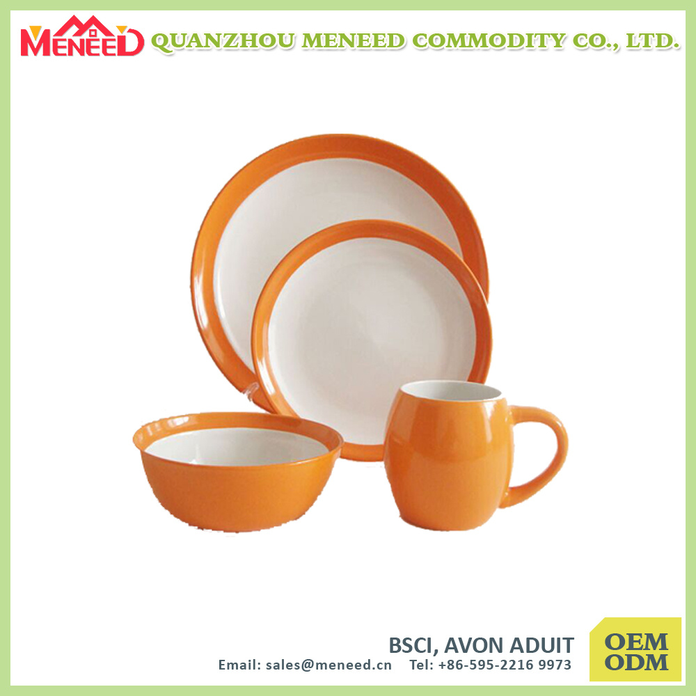 Tradition Design High Quality Unbreakable Melamine Dinnerware Set