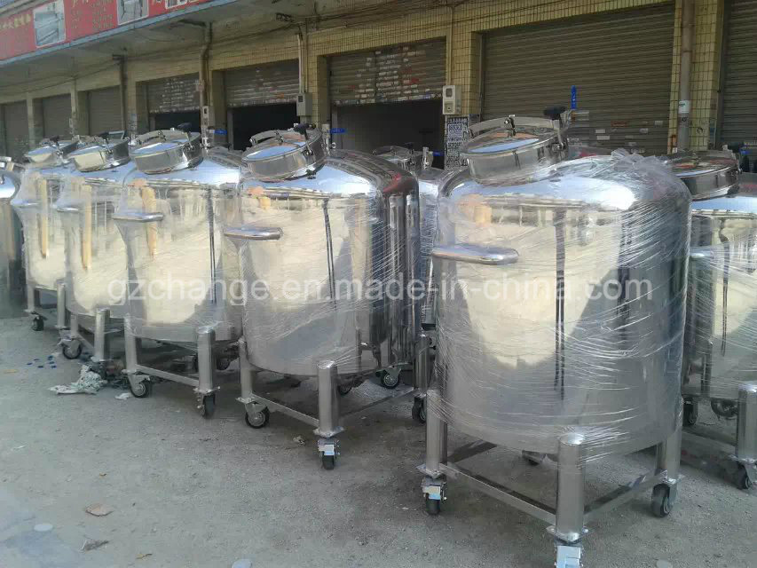 High Grade stainless Steel Storage Tank for Various Liquid and Paste