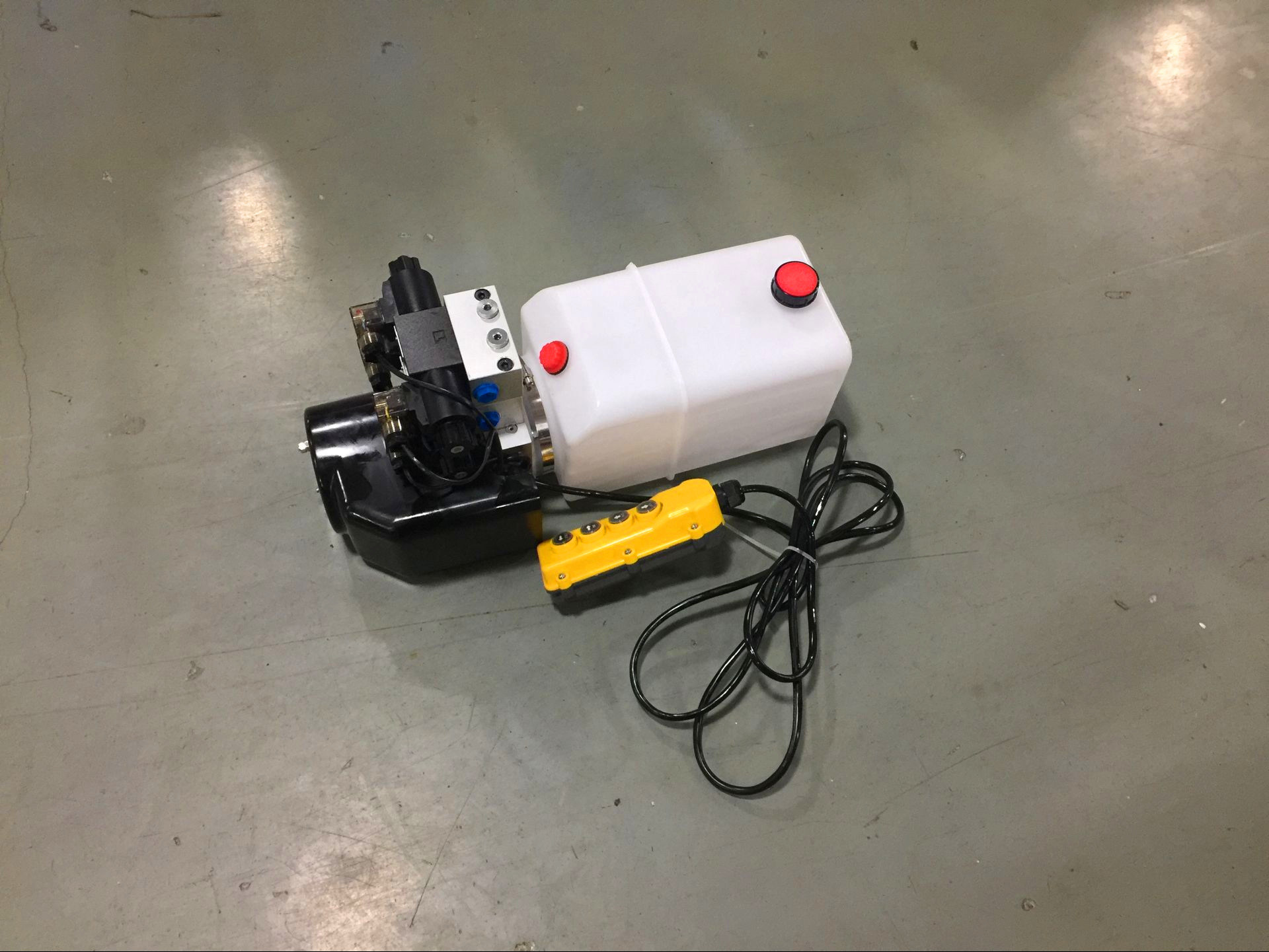 DC Hydraulic Power Unit with Plastic Tank