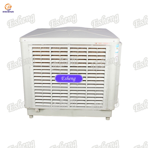 Down Discharge Electric Industrial Air Cooler with 4 PC Cooling Pad