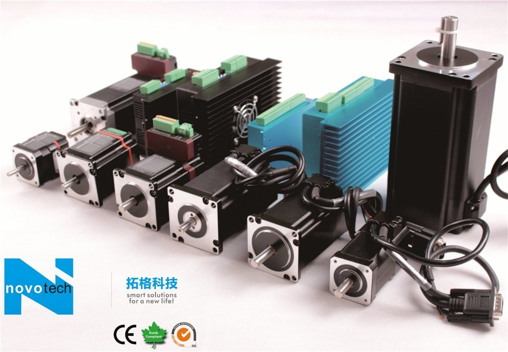 Integrated Brushless Servo Motor with Driver Built-in System