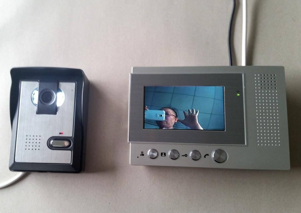 4.3 Inch Video Door Phone Hotel LCD Door Viewer