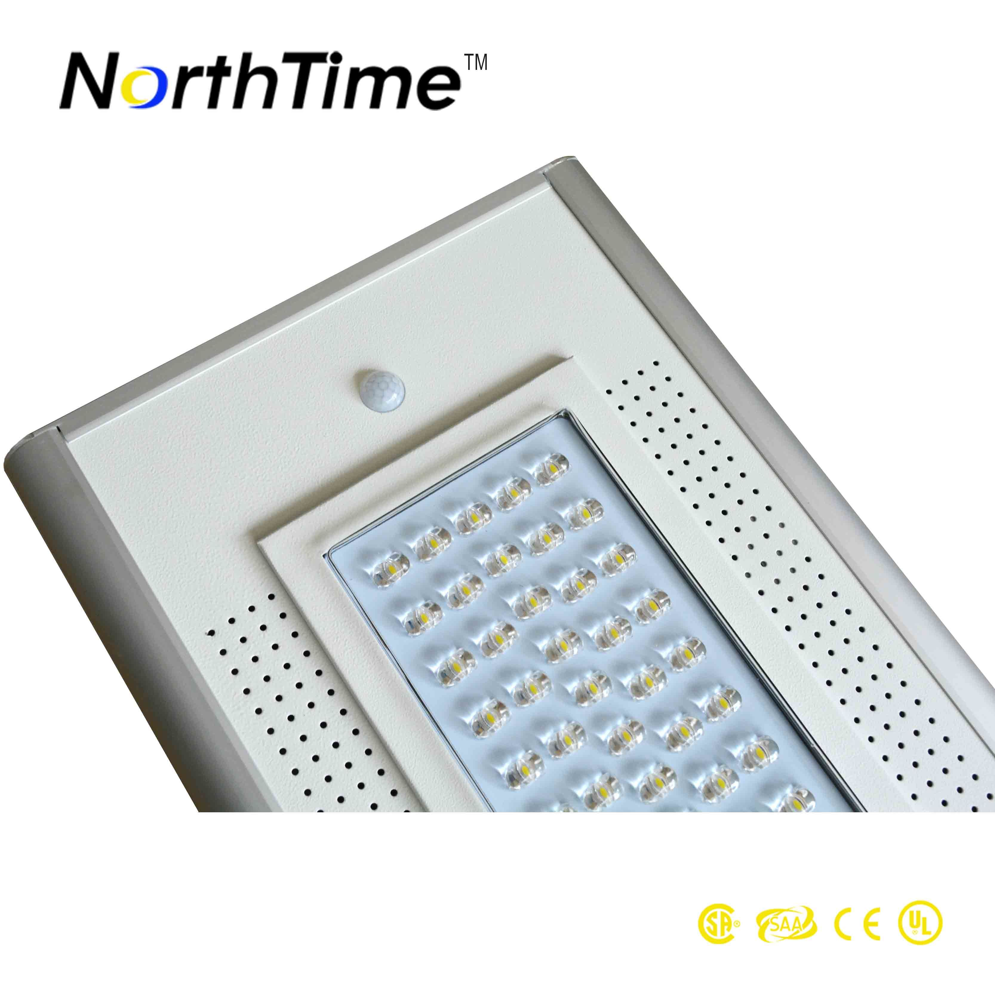 Intelligent Control Solar Light with Efficiency Mono Solar Panel Sunpower 18V 70W