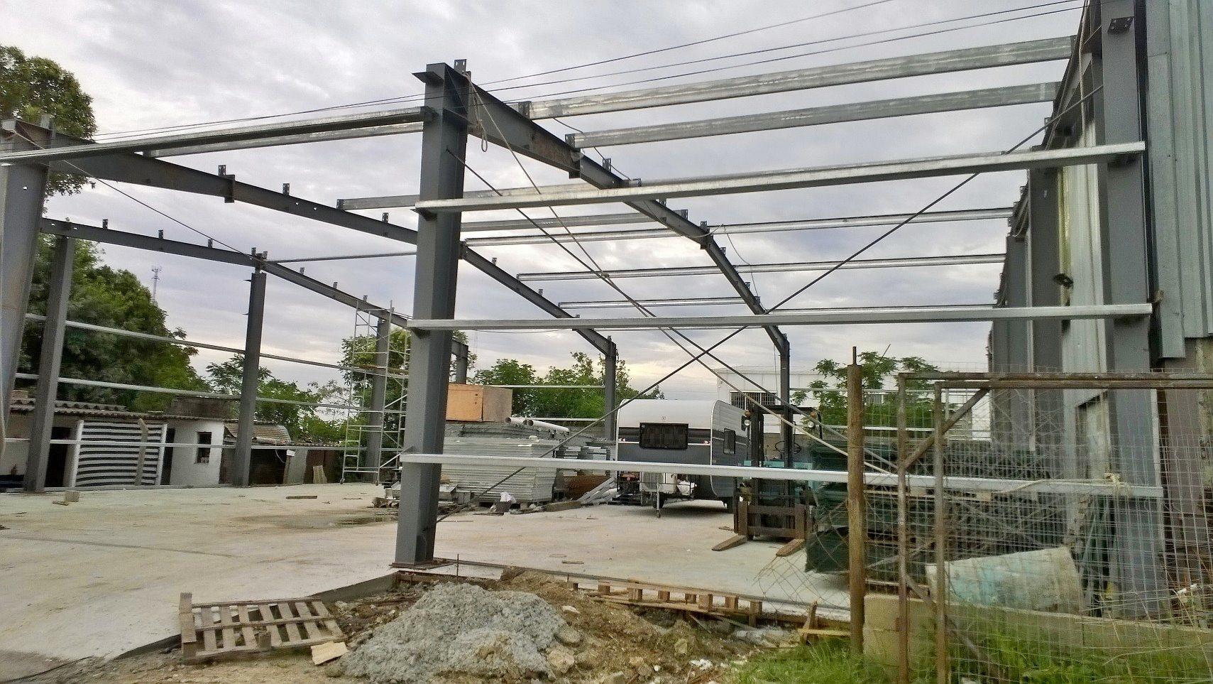 2017 Hot Sale Light Large Span Steel Metal Prefabricated Modular Building