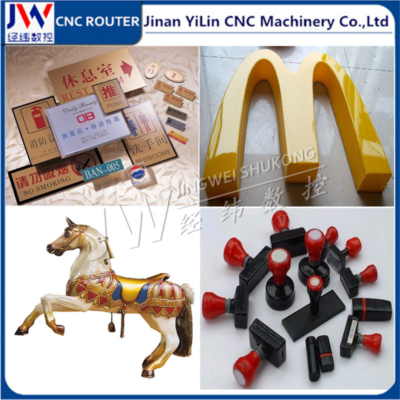3030 / 4040 / 6060 Mini Metal CNC Router for Advertising Acrylic Wood Plastic