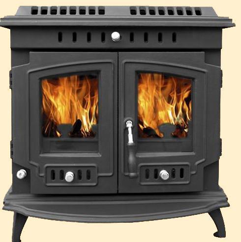 Unique Cast Iron Wood Stove/Fireplace
