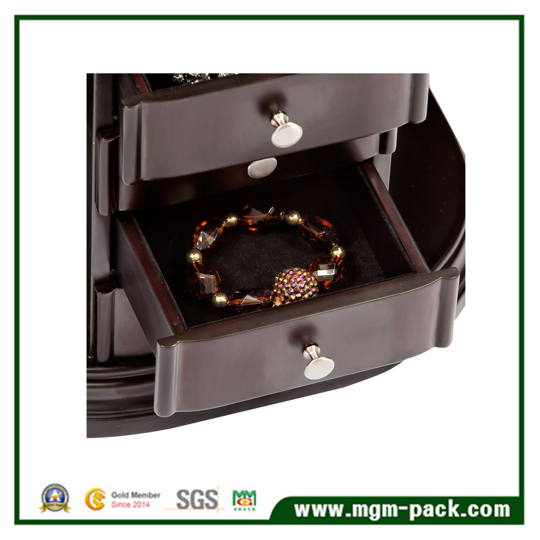 Wholesale Elegant Jewelry Wooden Storage Box