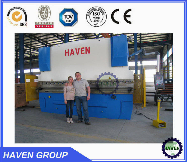 WE67K-250X3200 CNC Electric Hydraulic Synchronization Hydraulic Press Brake